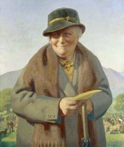 by Delmar Banner, 1938. British National Portrait Gallery.