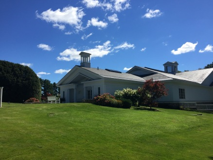 Exterior of the Norman Rockwell Museum, Stockbridge, Mass.