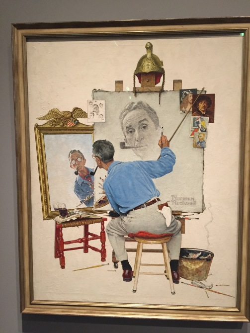 Triple Self-Portrait, 1960