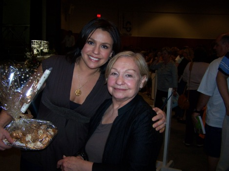 Rachael Ray and her mother, Elsa Scuderi