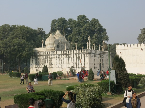 Mosque within Red Fort grounds