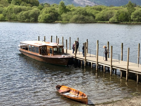 Boat we took Derwent Water